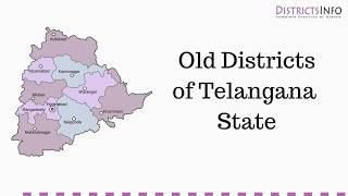 List of Old Districts in  Telangana State  - Districtsinfo