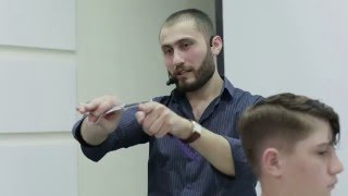 Обучение Парикмахеров. Как научиться делать тушевку? Влад Гарамов
