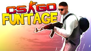 CS:GO FUNTAGE! - Crazy Noscopes, Bottle Kill & Hand-Offs! (CS:GO Funny Moments)