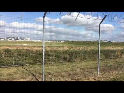 World busiest single-use runway in the World. Gatwick AirPort.