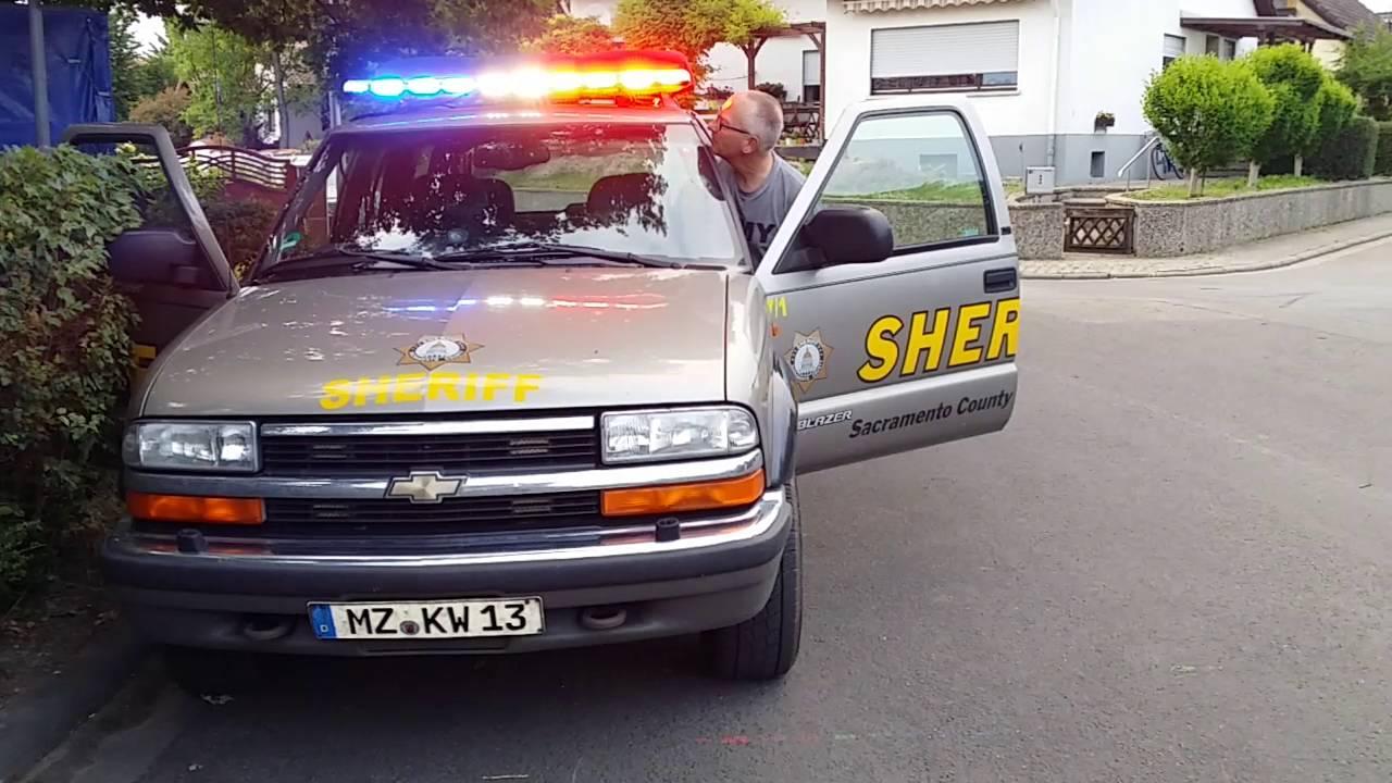 Sheriff Blazer Light Bar Led