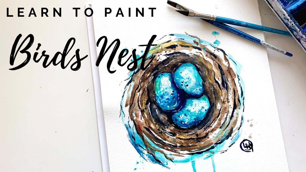 Learn To Paint Nature Online Watercolor Classes For Beginners Youtube