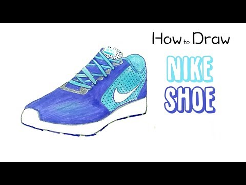 how-to-draw-a-nike-shoe