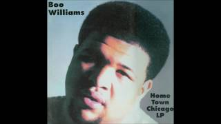 Boo Williams -- Home Town Chicago LP-Smokin