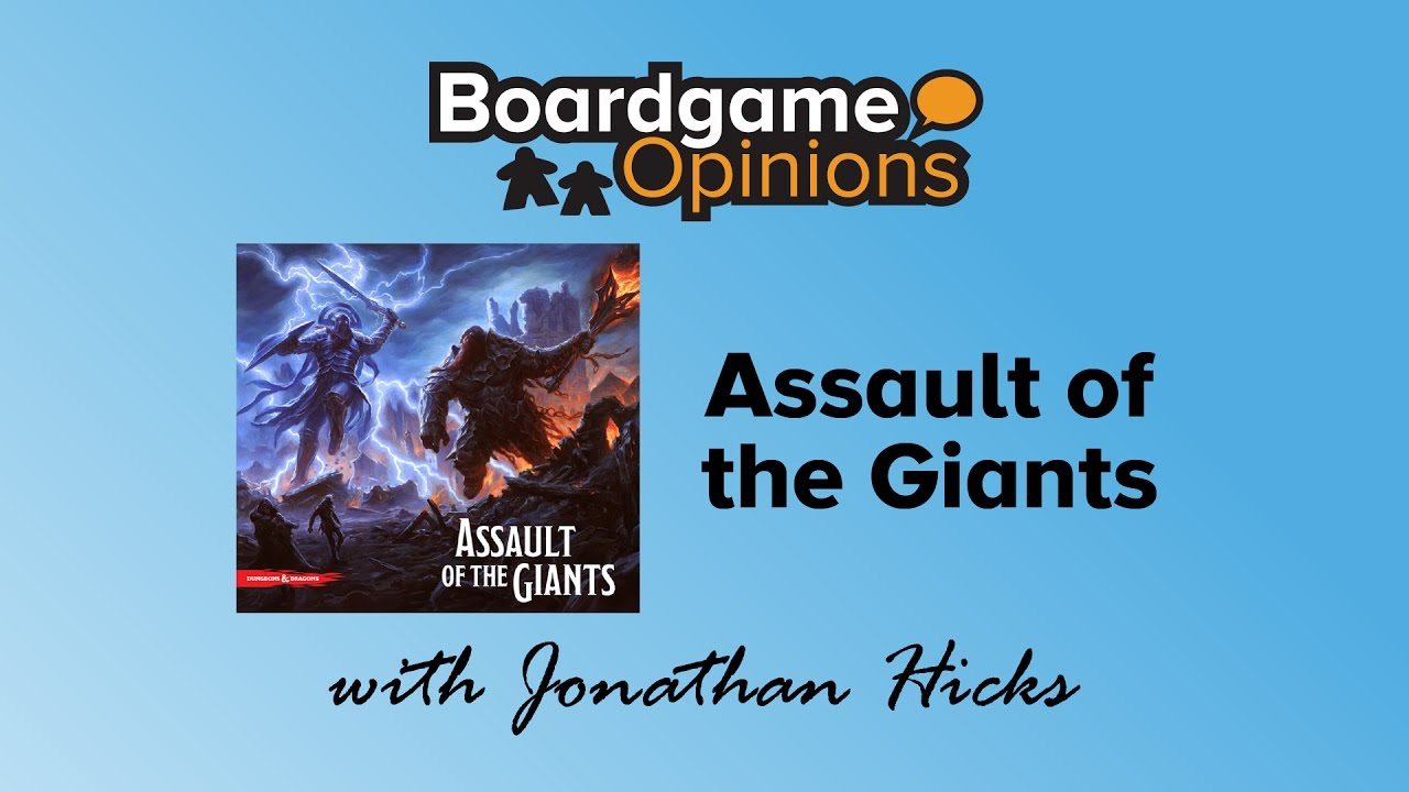 Boardgame Opinions Assault Of The Giants Video Boardgamegeek
