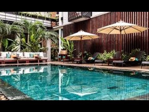 The Aviary Hotel, Siem Reap, Cambodia - Unravel Travel TV