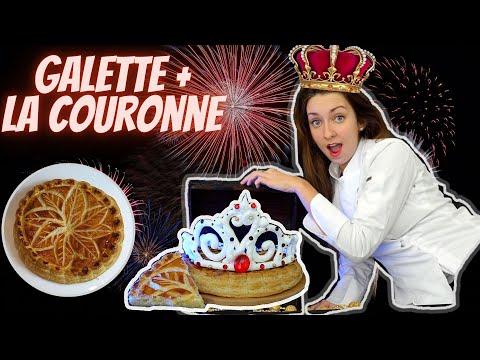 galette-des-rois-frangipane-👑-couronne-en-meringue