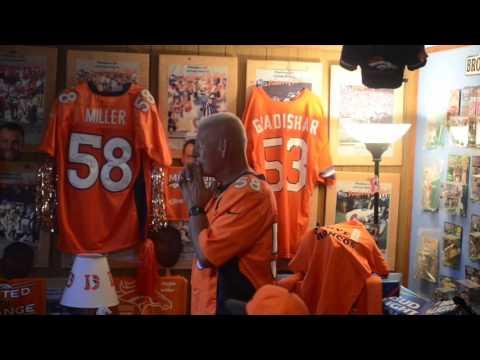 Denver Dale, King of Denver Broncos memorabilia