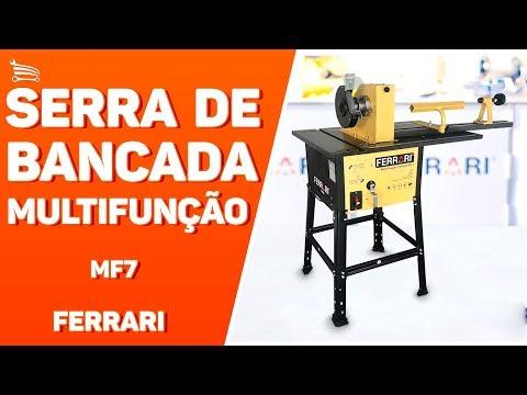 cc374e56792b2 Serra de Bancada Multifunção 1500W FERRARI - Loja do Mecânico - YouTube