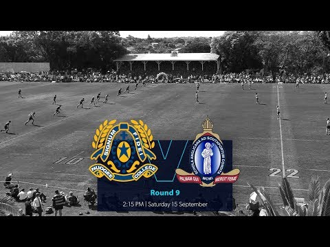 GPS Rugby R9 2018: St Joseph's Nudgee College v The Southport School