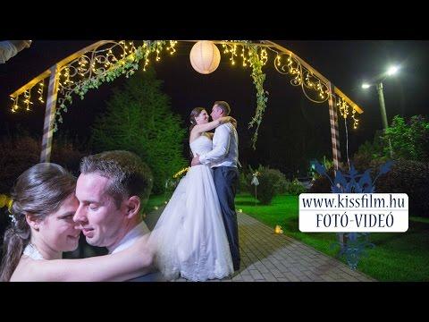 Rita és Matyi esküvője Kemecse és Napkor (Aranyalma Étterem)