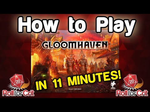 How to Play Gloomhaven | Roll For Crit