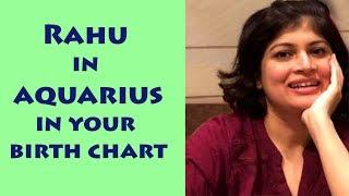 Rahu in Aquarius | Rahu through signs| Rahu in Vedic astrology
