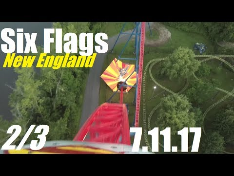 Six Flags New England Vlog - 7.11.17 (Part 2/3)