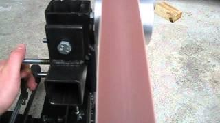 Belt Grinder Homemade 2x72 Part 2