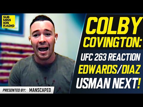 Colby Covington Reacts to UFC 263, Diaz/Edwards Fight: