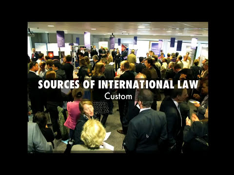Sources of International Law-Overview