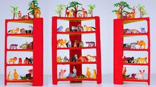 How to Make Shelves #For Kids Using Cardboard