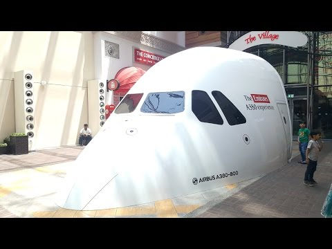 Emirates Airbus A380 - 800 Experience on Simulator FHD 1080 | Places in DUBAI