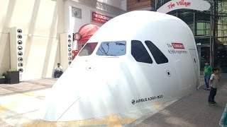 Emirates Airbus A380 - 800 Experience on Simula...