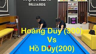 💥Hoàng Duy(300) Vs Hồ Duy(200)-Học viên giao đấu kèo DMAX 9A😄