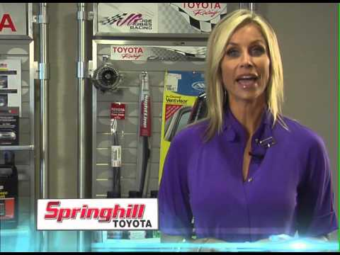 We Have Your Toyota Part And Tires At Springhill Toyota In Mobile, AL