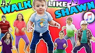 ♫ GEHEN WIE SHAWN ♫ Musik-Video für Kinder ♬ Dance Song