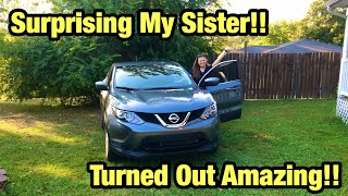 I Bought The Cheapest 2018 Nissan Rogue From Copart And Rebuilt It For My Sister She Almost Cried