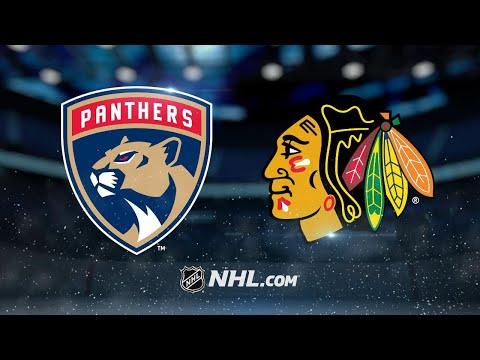 Kane lifts Blackhawks to 3-2 OT win against Panthers