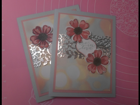 So in Love - foil and flowers