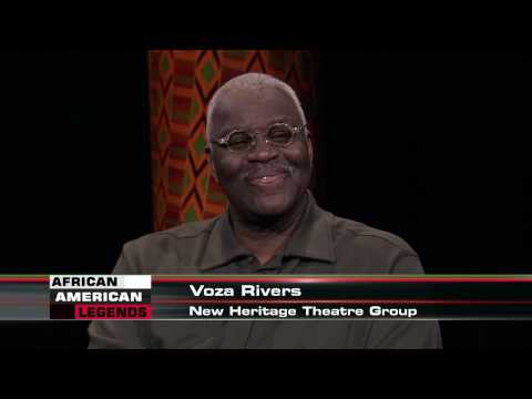 "African-American Legends: Voza Rivers, Executive Producer, New Heritage Theatre Group, ""In the Arts"""
