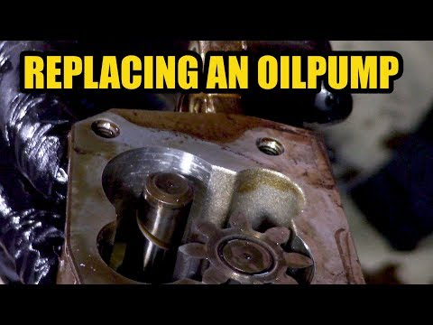 How to replace an oil pump on a Peugeot/Citroën 1.4 16v KFU engine.