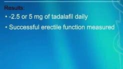 Daily Tadalafil Prevents Erectile Dysfunction in Diabetic