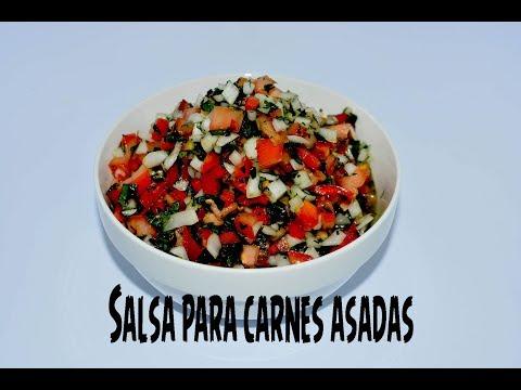 Como hacer Salsa para carnes asadas
