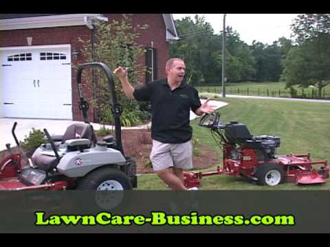 How Many Lawns Can Lawn Care Business Cut In a Day? - YouTube