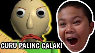 THE MOST STRANGE SCHOOL! THE TEACHER KALO CLEARLY BANGET! -ROBLOX INDONESIA (BALDI'S BASIC)