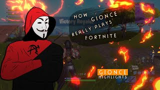 How **Gionce** Really Plays Fortnite