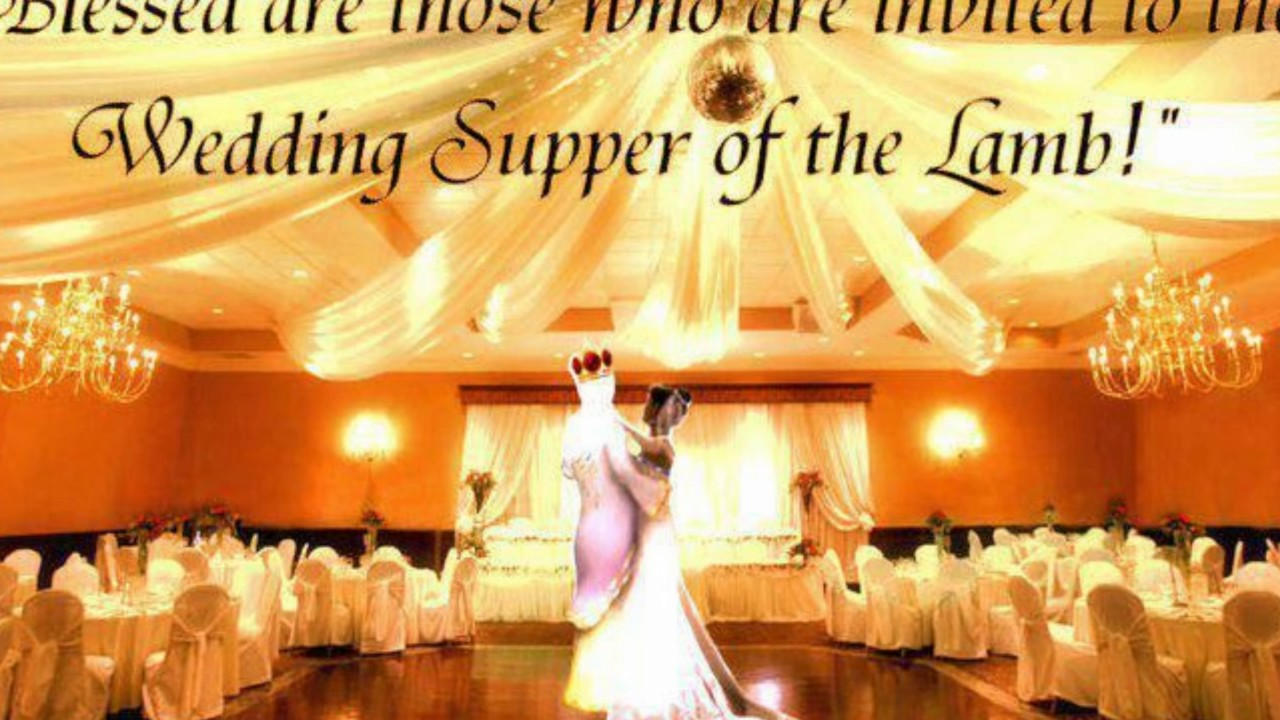 The Wedding Invitation Supper Of Lamb Do You Have Proper Garment