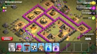 Clash of Clans : Einzelspieler : Herumgespringe