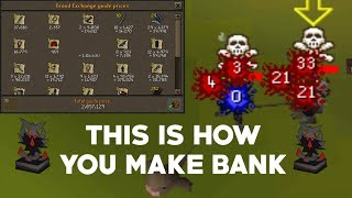 Loot From 1 Hour Of Gmaul Pure Pking - OSRS Pk Commentary