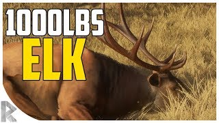 1000lbs Elk Hunt! - theHunter: Call of the Wild #9