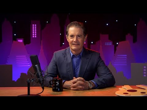 Kyle MacLachlan live on Facebook talking about Twin Peaks July 6, 2017