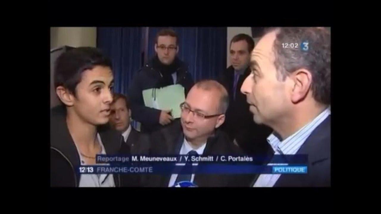 A 21 ans seulement il est candidat à l'élection présidentielle Française de 2017