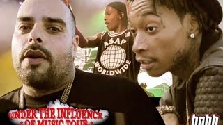 The Under The Influence Tour ft. Berner, Wiz Khalifa, Asap Rocky and more (Episode 1)
