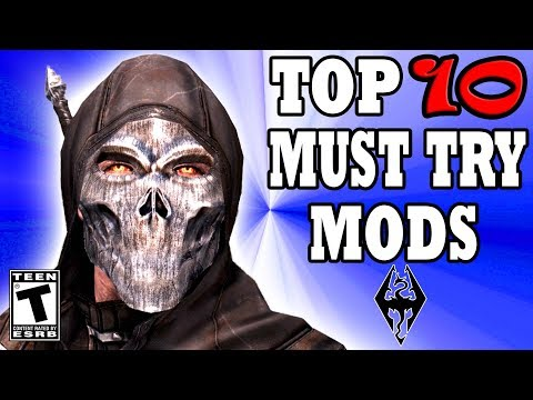 Skyrim Special Edition Top 10 MUST TRY Mods