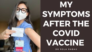 My symptoms after the COVID vaccine!!!! TRUTH about my side effects | VLOG