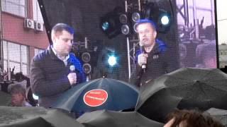 Выступление Петра Офицерова