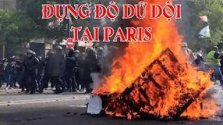 Đụng độ dữ dội tại Paris