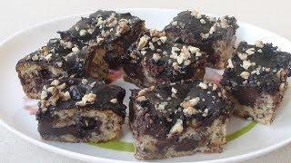 Шоколадно-ореховый пирог-торт