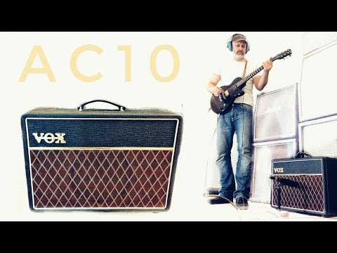 Thick tones from Bedroom to Gig - Vox AC10